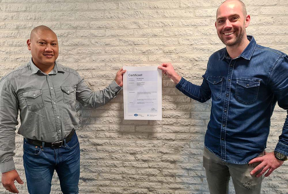 Risk Safety behaalt ISO 9001 certificering