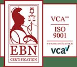 VCA 2ster - ISO9001 - Gecertificeerd